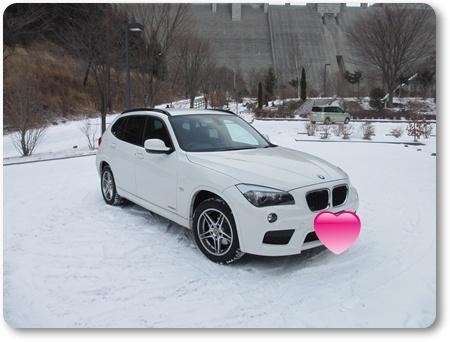 X1雪道,X1雪道実力,BMW E84雪道