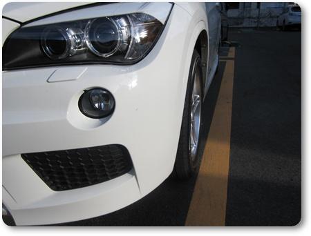 BMW X1ホイールオフセット,BMW X1 スタッドレス用ホイール