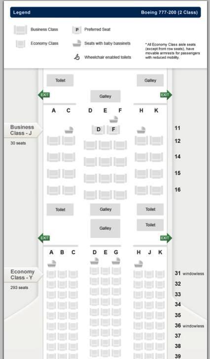 シンガポール航空777-200ビジネスクラス,SQ941ビジネスクラス,SQ941バリ~シンガポールビシネスクラス