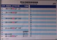 気仙沼線柳津駅8時刻表