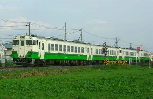 気仙沼線柳津駅11キハ40
