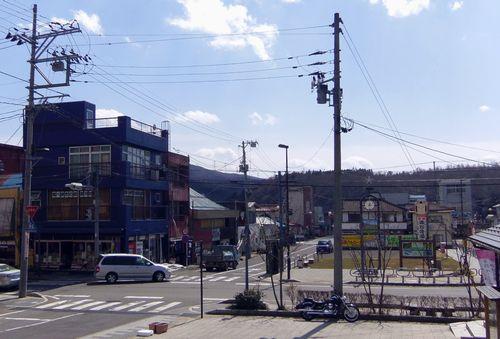 遠刈田温泉2中心部