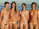 西洋美女 団体ヌード画像 11