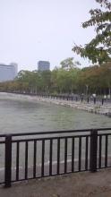 20141011大阪城お堀の景色