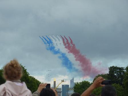フランス国旗ですね