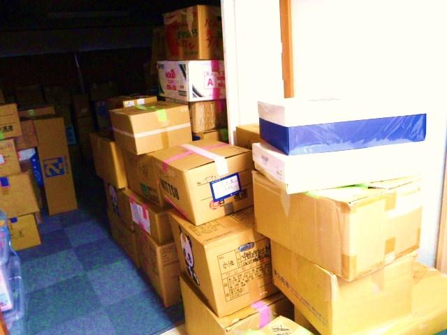 1028山梨から到着の物資1
