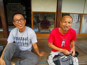 所君と岡本さん
