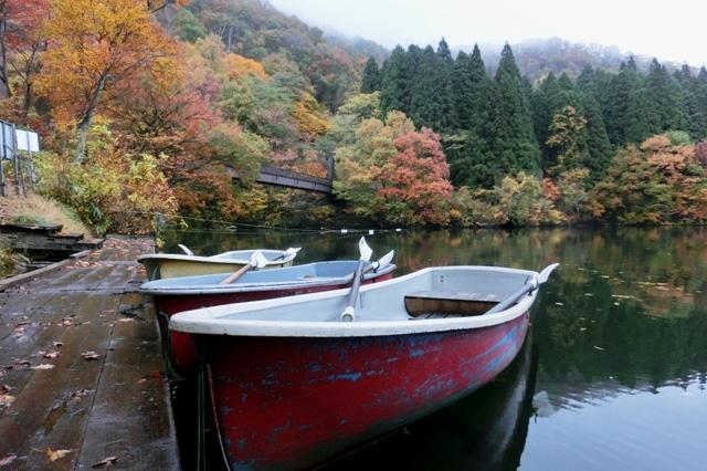 大源太湖 ボート乗り場