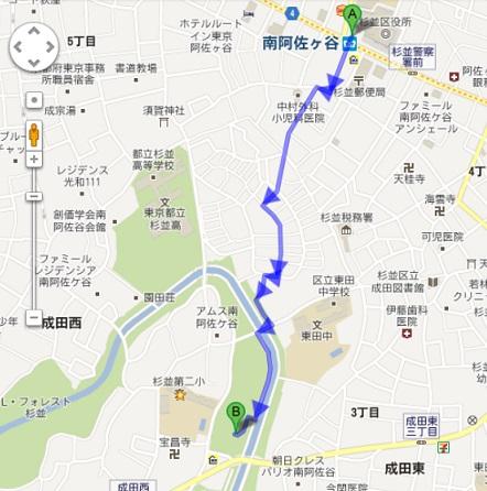 桜祭り会場地図