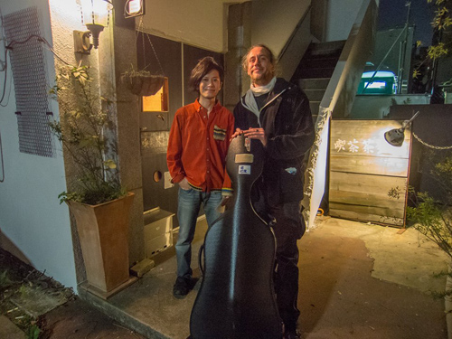Hugues Vincent(cello) Naoya Murata(turntable)duo--