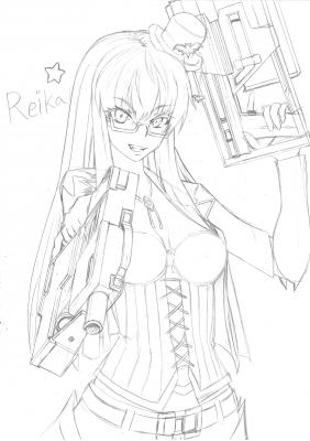 Reika☆-線画