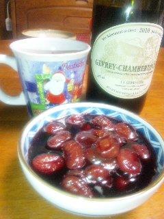ぶどうのワイン煮02