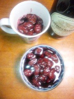 ぶどうのワイン煮03