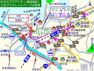 三井アウトレット 木更津 マップ