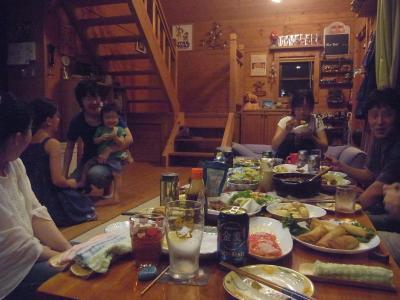 ログ食事会2