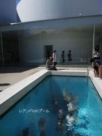 レアンドロのプール上
