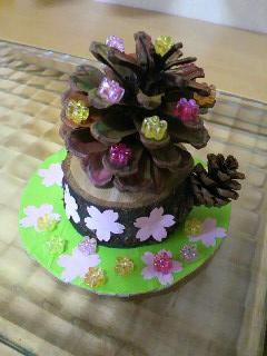 桜の幹アフター