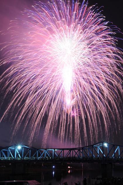 南丹の花火