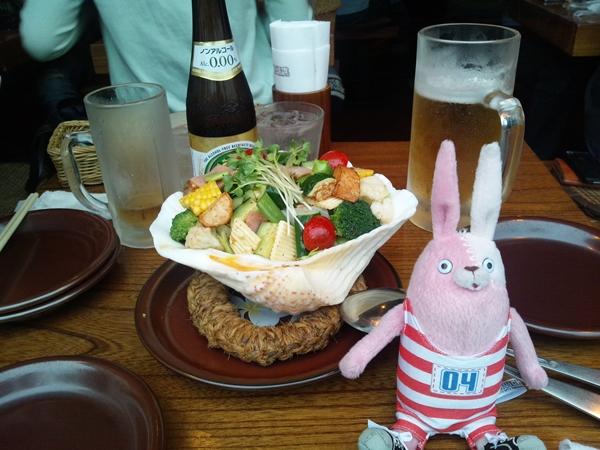 5色サラダ