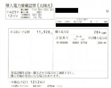 20131222_11月の売電