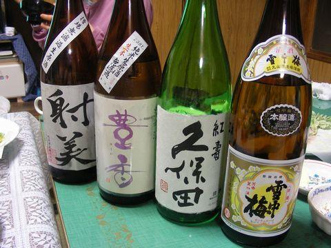 2012ゴールデン 酒たち