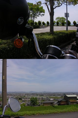 琵琶湖から池田1