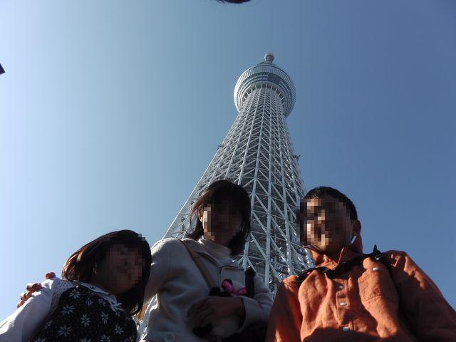 東京スカイツリー 20131124