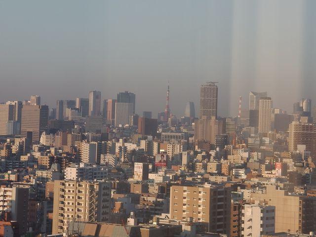 東京タワー ホテルより 20131124