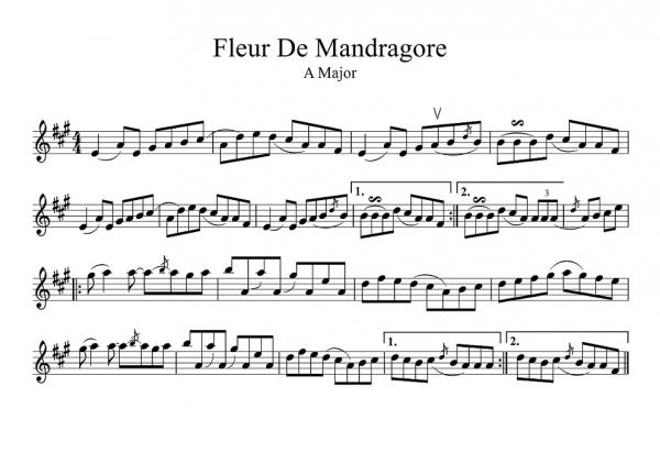Fleur De Mandragore score-1