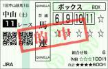 2013中山金杯馬連BOX