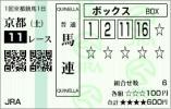 2013京都金杯馬連BOX