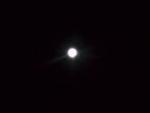 月がきれいでした