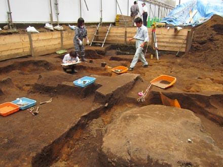 埋蔵文化財発掘6-8-①