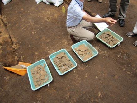 埋蔵文化財発掘6-8-⑥