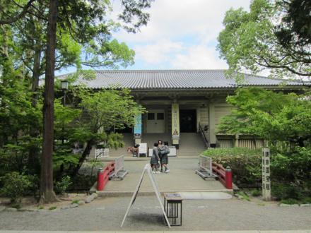 鎌倉国宝館①
