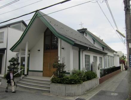 日本聖公会鎌倉聖ミカエル教会聖堂①