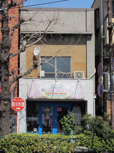 青梅街道沿いの看板建築④