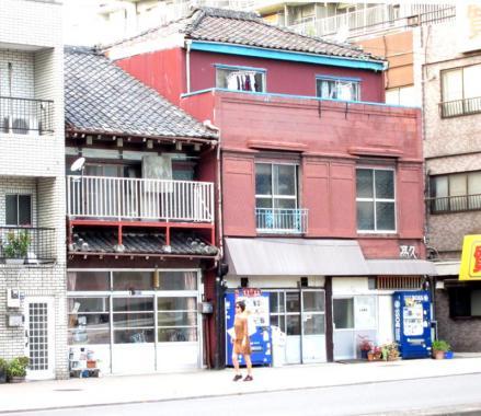 佃二丁目清澄通り沿いの建物①