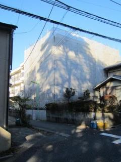 近所の建築現場③