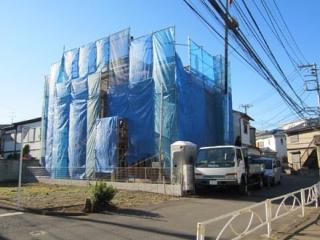 近所の建築現場⑦