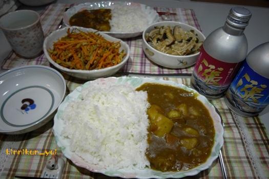 20120513なかじま家の食卓
