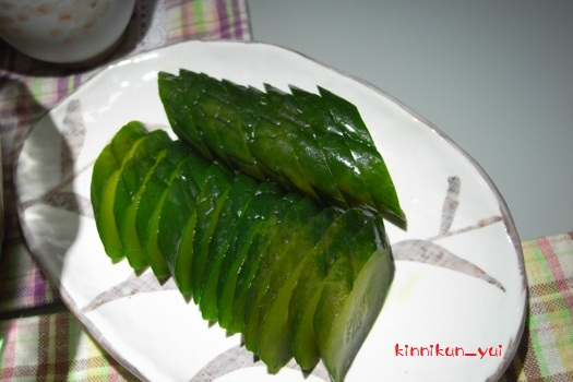 胡瓜の漬物