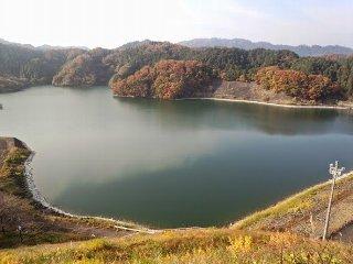 20141124の城山湖