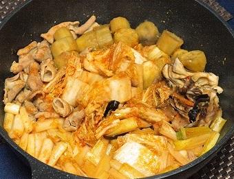 キムチ鍋20131218
