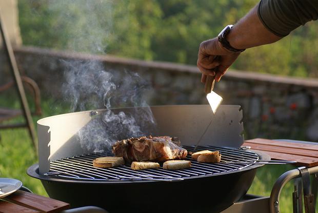 bisteccha e bruschetta