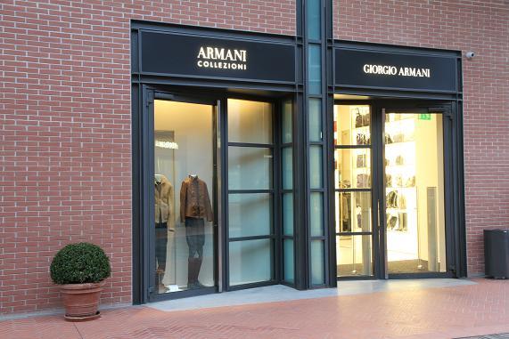 shop armani