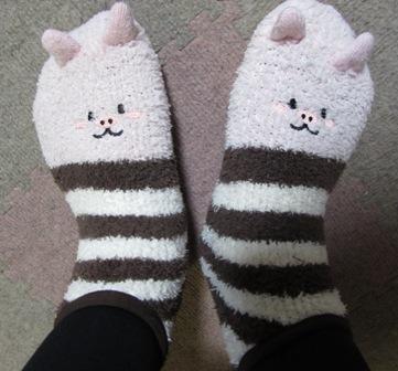 マミィの靴下