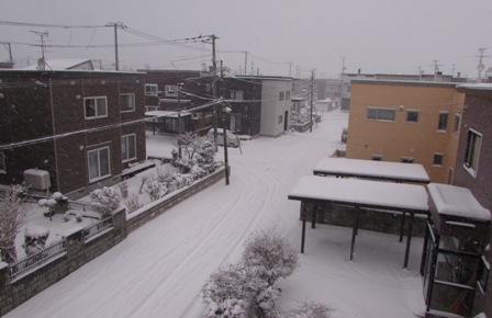 たとえ毎日雪が