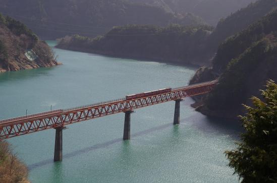 奥大井湖上駅 15