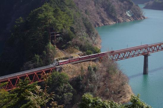 奥大井湖上駅 17